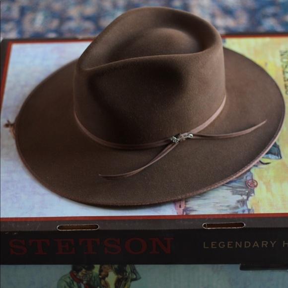 9795f2e9cb174 Stetson Dune Hat Acorn color